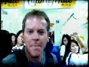 Kiefer Sutherland in Japan