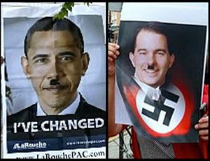 Obama and Walker compared to Hitler
