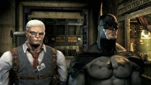 Commissioner Gordon and Batman