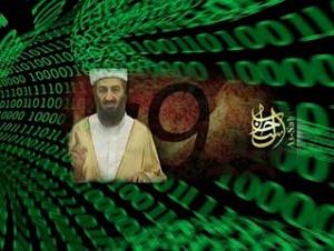 Osama bin Laden, too, has embraced the information age