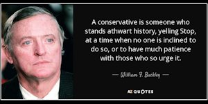 William F. Buckley quote
