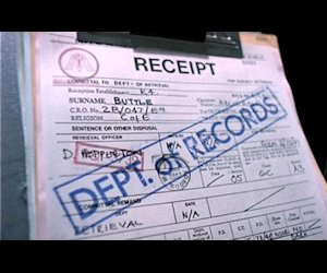 Buttle's paperwork