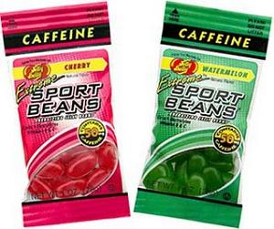 Caffeinated jelly beans