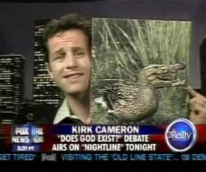 Kirk Cameron and the Crocoduck