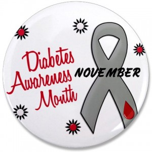 Diabetes Awareness Month button
