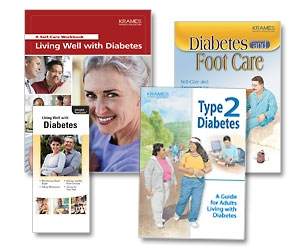 diabetes-related brochures