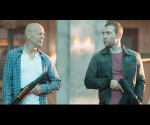 John McClane and Junior