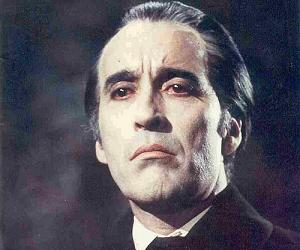 Sir Christopher Lee as Dracula