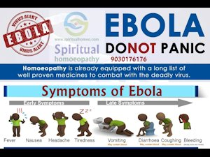 Don't panic about Ebola, there's spiritual homeopathy!