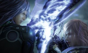Lightning and Caius in Valhalla