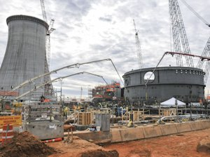 New construction at the Vogtle nuclear power plant in Georgia