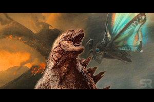 Rodan, Godzilla, and Mothra