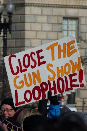 Close the gun show loophole