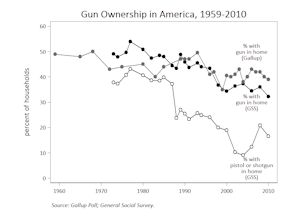 Gun ownership graph