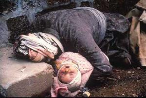 Halabja 1988: if that's not a human rights violation, I don't know what is