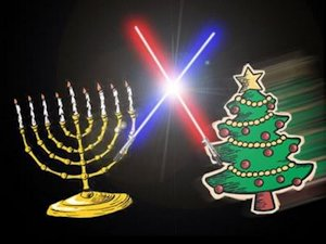 Hannukah vs Christmas