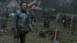 King Henry V after the big battle