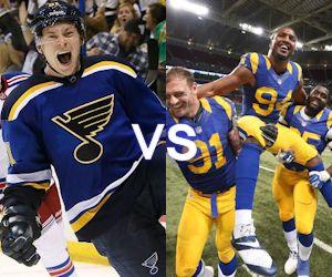 Hockey versus football
