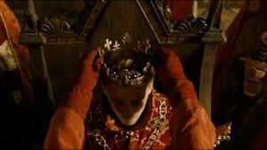 Henry V being crowned