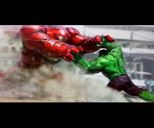 The Hulkbuster concept art