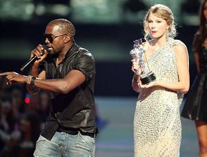 Kanye at the VMAs