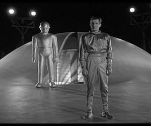 Klaatu and Gort in the only movie named The Day the Earth Stood Still worth discussing