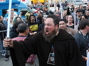 Fans at The Last Jedi