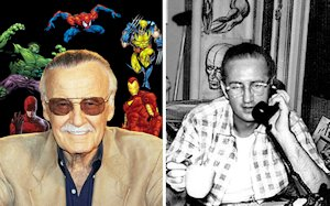 Stan Lee and Steve Ditko