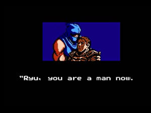 Ryu, you're a man now