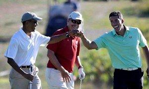 Obama fistbump