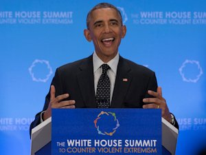 Obama at the White House Summit to Counter Violent Extremism