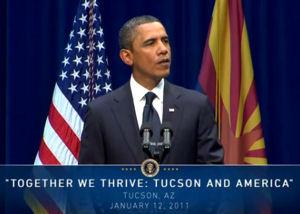 President Obama in Tucson