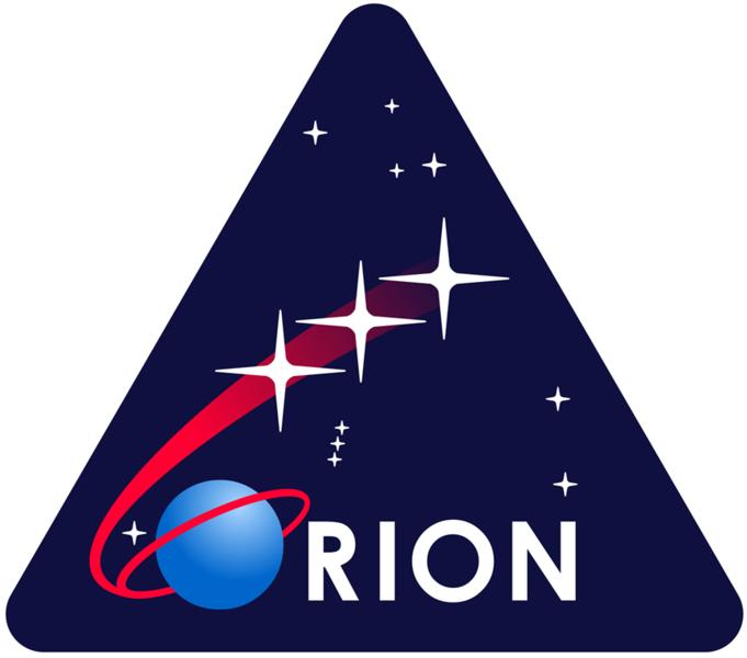 The Orion logo was created by the awesome Star Trek graphic designer Michael Okuda
