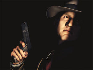 Cole Phelps in shadow
