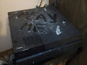 dusty PlayStation