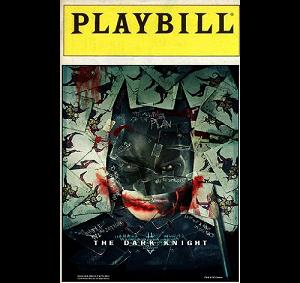 Playbill for the Dark Knight