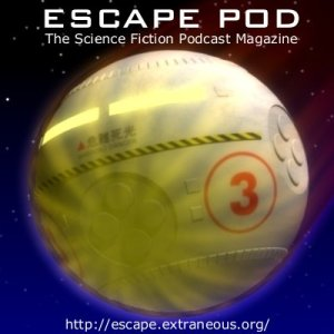 Maybe it was the host's insistence (both blatant and possibly subliminal) that I blog about it, but I feel the need to plug Escape Pod, the finest audio science-fiction podcast