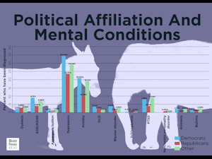 Political Affiliations and Mental Conditions