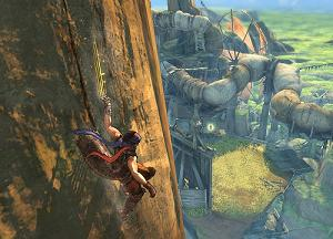 Screenshot from 2008's Prince of Persia