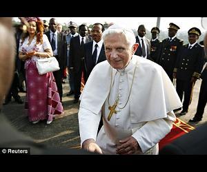 Pope Benedict XVI in Africa