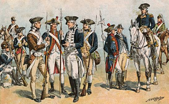 The American Revolution would have failed without guns