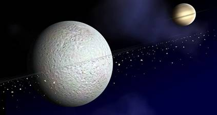 Rhea: even moons get jealous