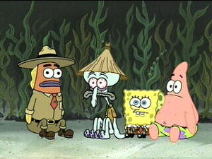 Conch Shell Spongebob