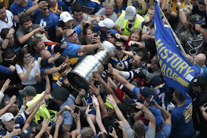 The Stanley Cup parade