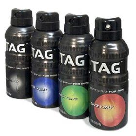 Tag Body Spray: You've Been Warned