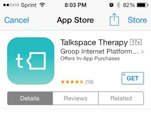 Talkspace app
