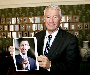 Thorbjorn Jagland, chairperson of the Norwegian Nobel Committee