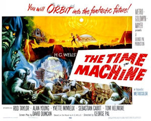 The Time Machine (1960) - poster