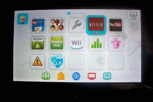 Wii U interface