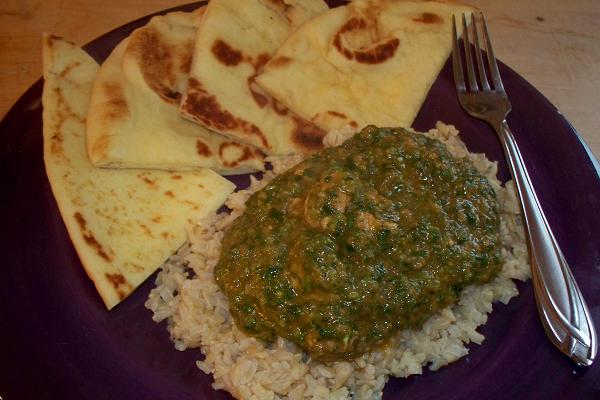 Chicken Saag